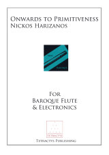 Nickos Harizanos - Onwards to Primitiveness op. 198