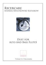Kwiatkowski-Kasnakow - Ricercare