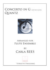 Quantz - Concerto in G for two flutes