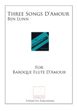 Ben Lunn - Three Songs D'Amour