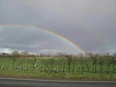 Rainbow over Selbourne
