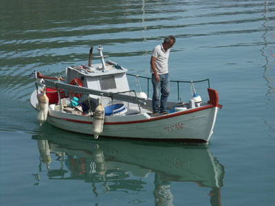 Fishing on the Greek Islands