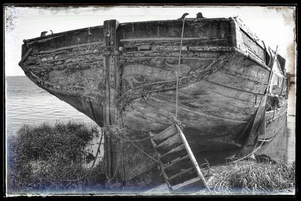 The barge Ena at Hoo
