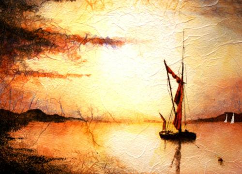 Stillness over the Estuary - SOLD