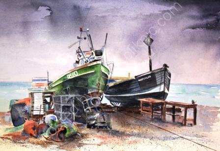 Fishing Boats at Deal