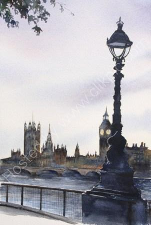 Stroll Along the Embankment - SOLD