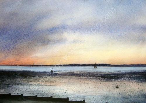 Sunset over the Estuary