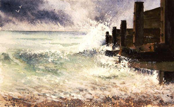 Storm over the Estuary