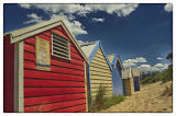 Brighton Beach Huts. © Tom Benneyworth LRPS