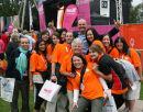 Volunteers and Paul Nixon (Games Ambassador)