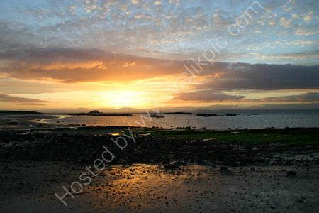 North Berwick Sunset 1