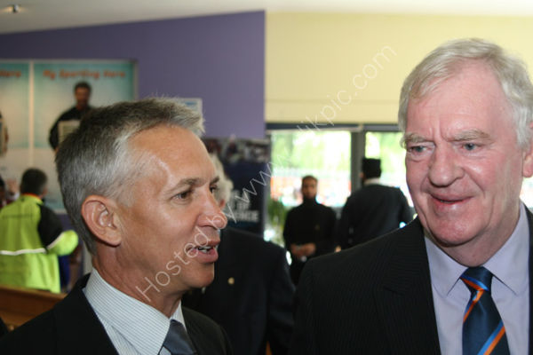 Gary Lineker and Lawrie McMenemy 1