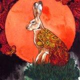Nouveau Paisley Hare