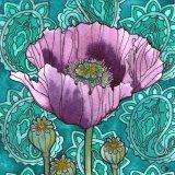 Nouveau Paisley Poppy