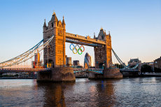 Tower Bridge-Olympics 2012