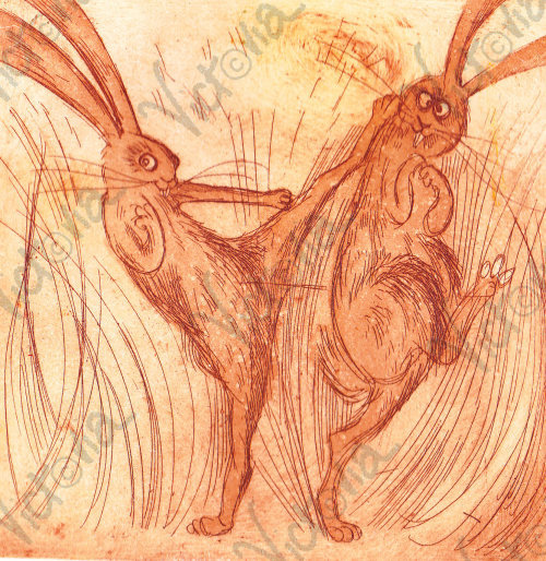 Marching Hares