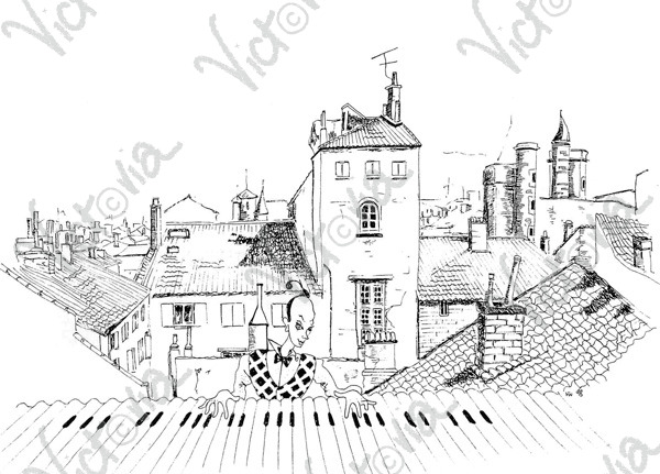 Sur les Toits (Rooftops) de Toulouse