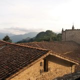 A view over the church roof at Tereglio