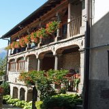 A typical town house in a Garfagnana mountain village