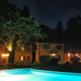 Nightview from pool