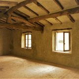 The upstairs room in the Hazelnut Cottage