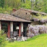 The wisteria patio