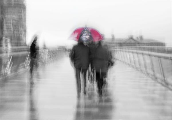 Wet day in Belfast