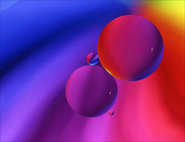 Coloured circles