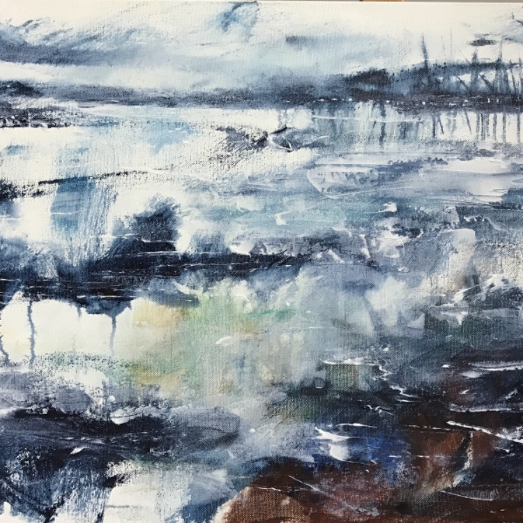 Detail from Lymington River SOLD
