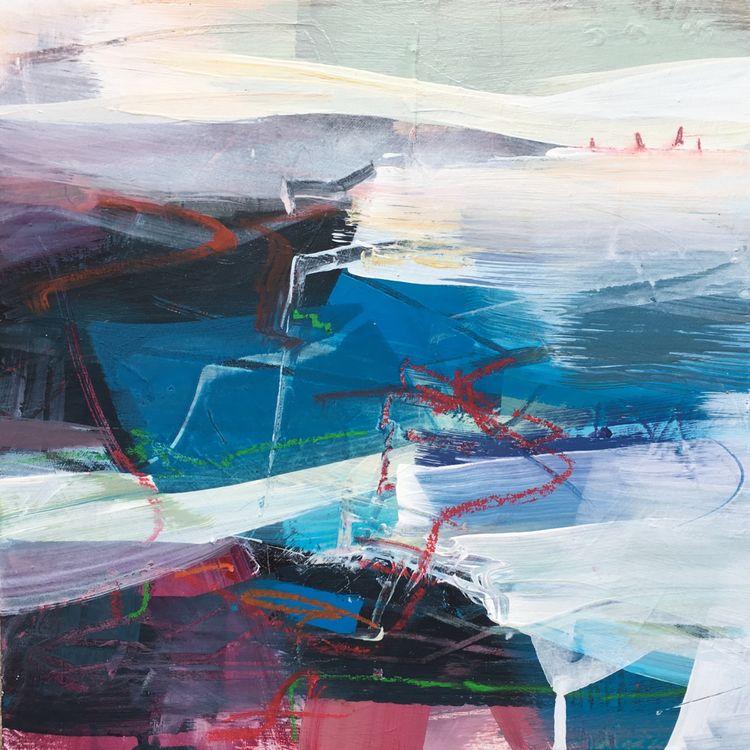 'Sail Away'. 30 x 30 cmo. SOLD