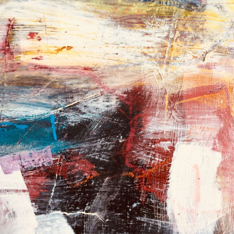 'Winter Solstice' 30 x 30 cm