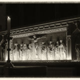 """Candlelit Alter, St. Collen's Church"""