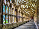 """""""Cloisters - Wells Cathedral"""