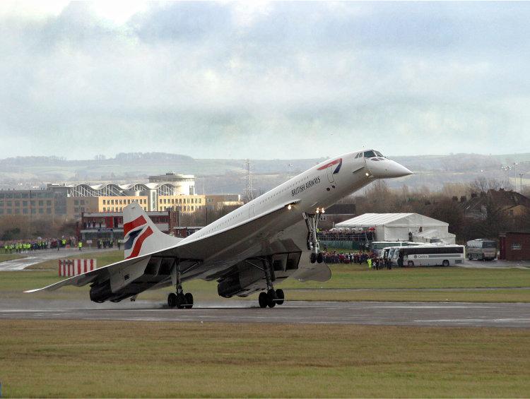 Concorde's Last Landing.
