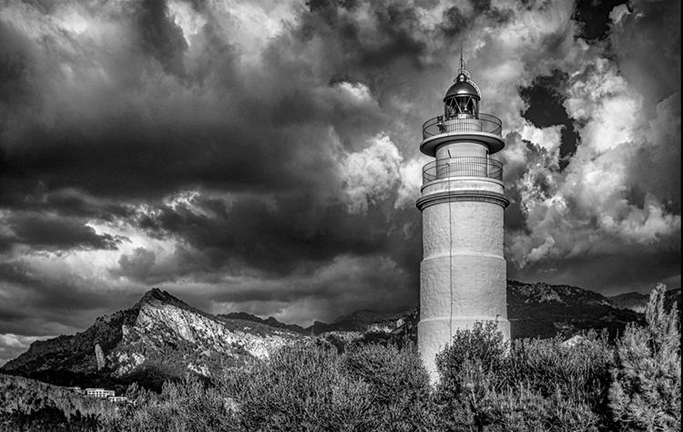 """Mallorcan Lighthouse"""