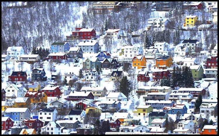 """""""Norwegian Village"""""""