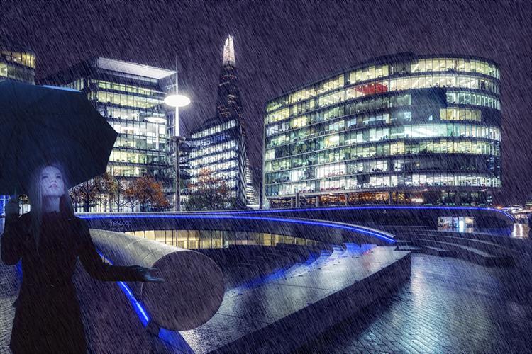"""Rainy London Night"""