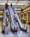 """St Pancras escalator"""