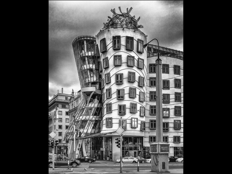 """The Dancing House - Prague"""