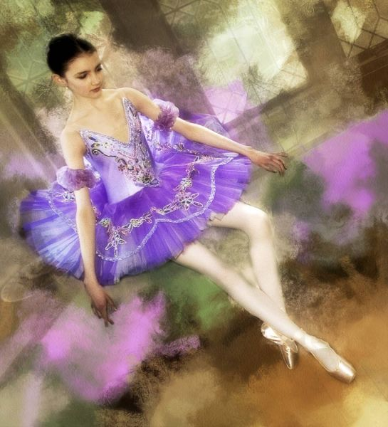 """The Young Ballerina"""