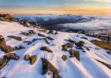 """Winter Sunset from Moel Siabod"""