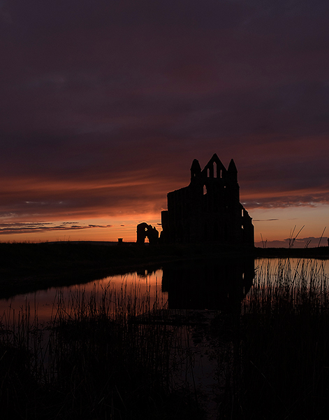 """""""Whitby Abbey Sunset"""""""