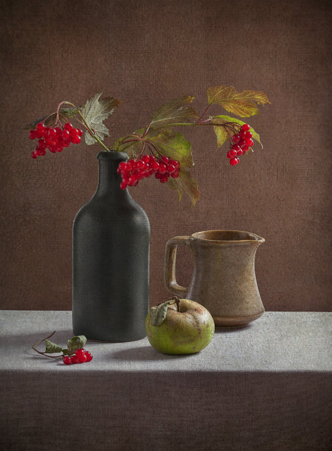 4th - Still Life with Green Apple