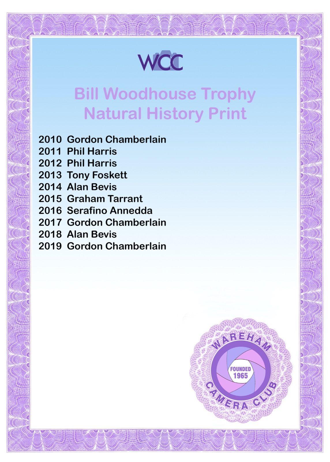 Bill Woodhouse