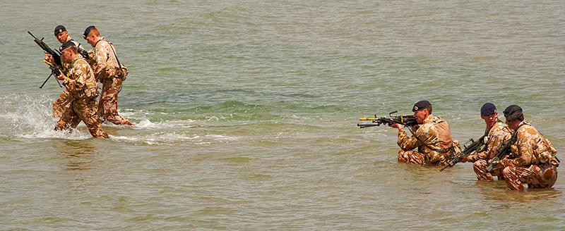 Casual Weymouth Beach Invasion