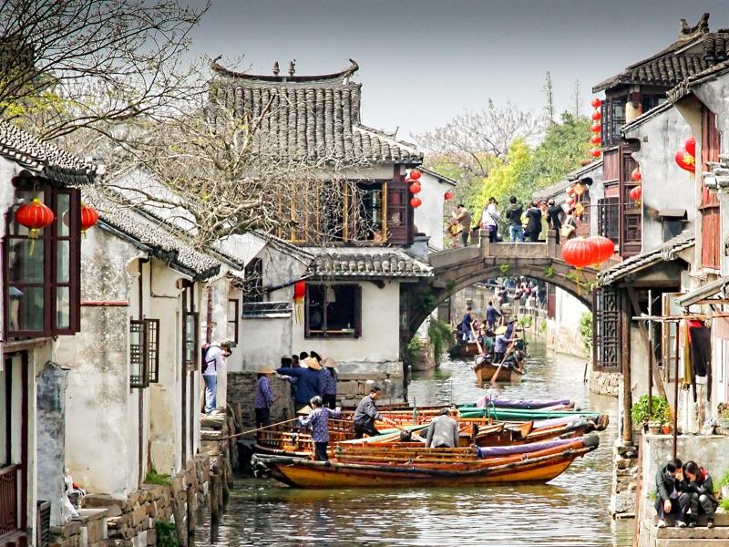 China boating