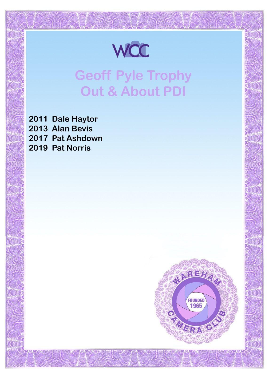 Geoff Pyle PDI 2