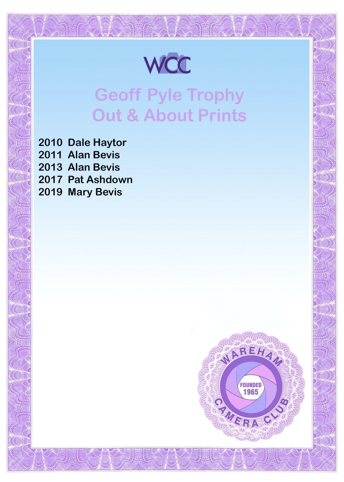 Geoff Pyle Prints