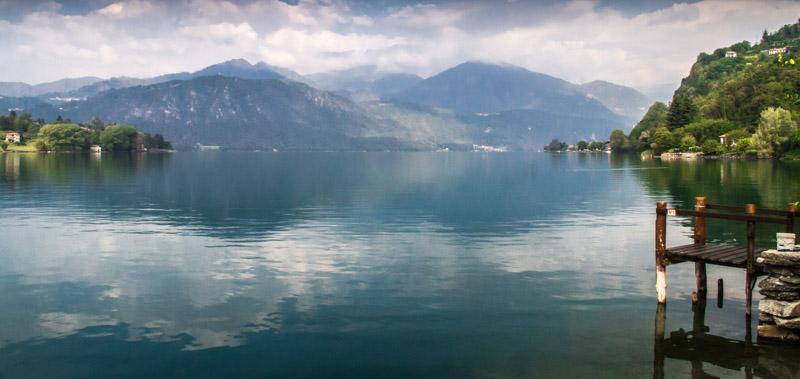 Lake Orta by Pat Norris