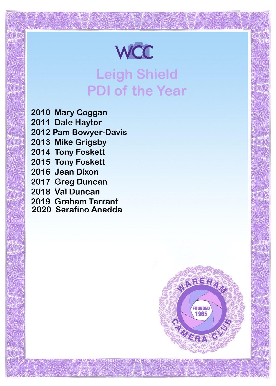 Leigh Shield